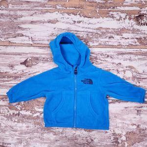 North Face | 0-3 MO. Fleece Zip Up